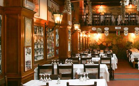 Dettaglio ristorante trastevere