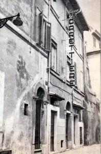 Trastevere, via benedetta, Roma - anni 60