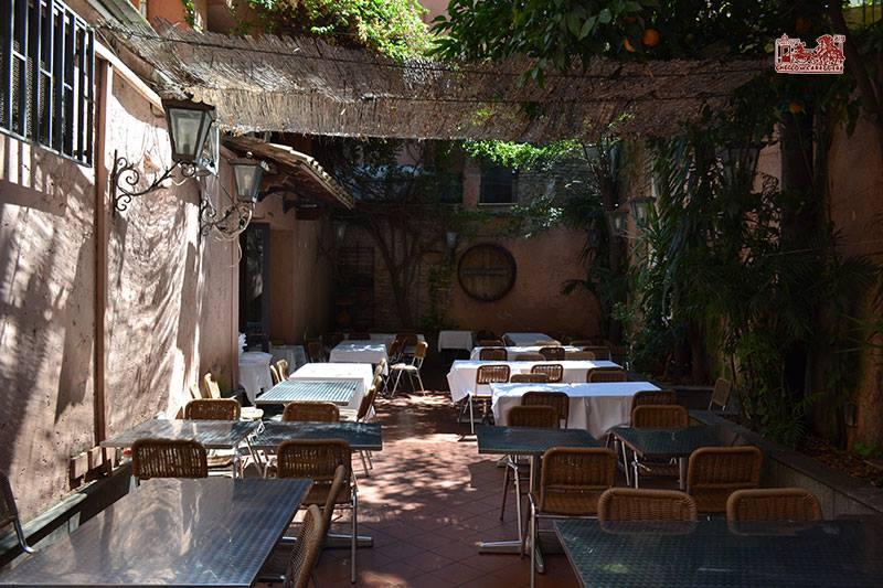 Ristorante giardino Trastevere