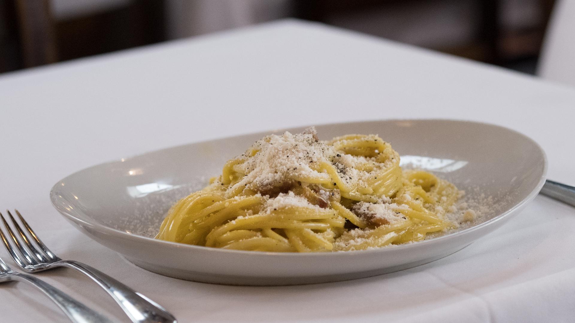 piatti tipici romani - carbonara