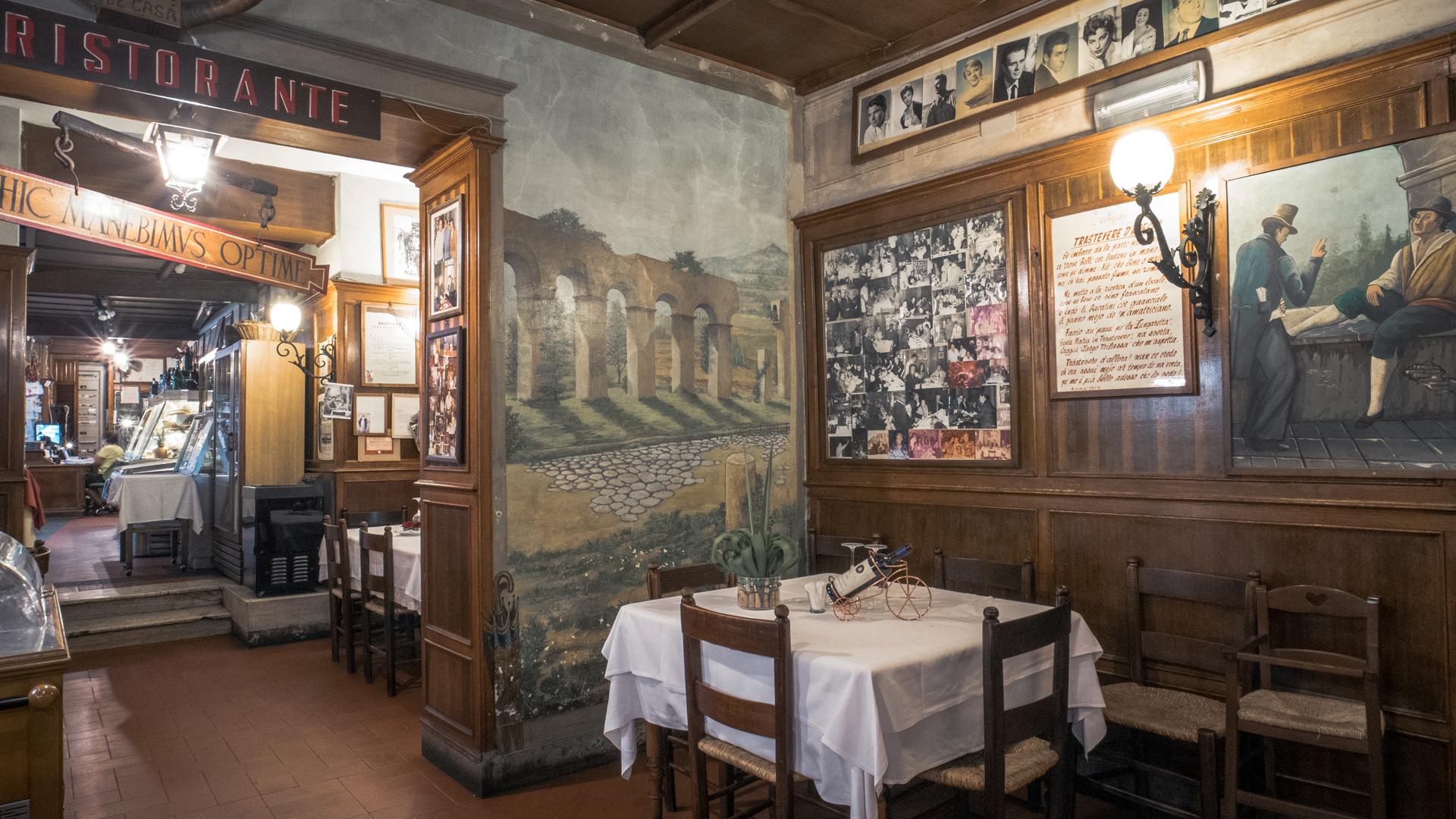 ristorante trastevere